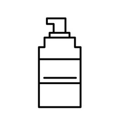 spray line icon sign on vector image