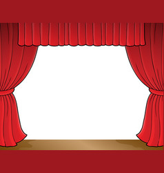 Stage theme image 1 vector