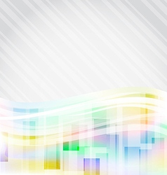 Abstract squares backdrop for design business card vector image vector image