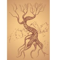 Dead tree sketch6 vector