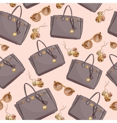 Fashion Pattern Of Women Bags vector