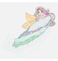 Little love fairy vector
