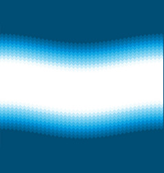 modern blue wavy background vector image
