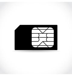 Sim cards vector image