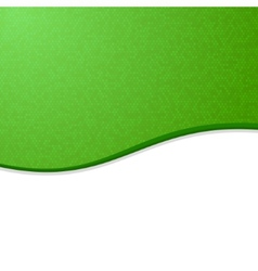 Green and White Waves Blank Abstract Background vector image