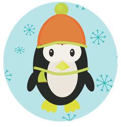Penguin icon app mobile vector image vector image