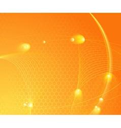 sunburst hightech template vector image vector image