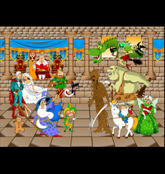 kingdom vector image vector image
