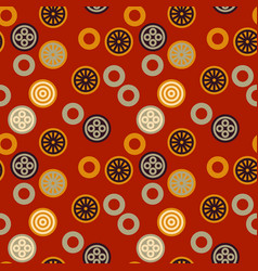 chinese signs seamless pattern vector image