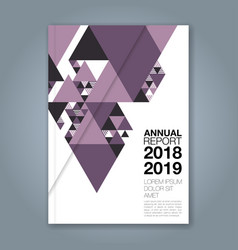 Cover annual report 1137 vector