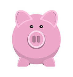 Icon of pig bank vector