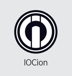 Iocoin digital currency coin coin vector