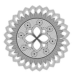 Mandale bohemic and ornament concept vector