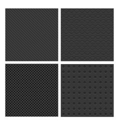 Metal Seamless Patterns vector