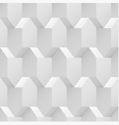 seamless geometric texture - 3d background vector image