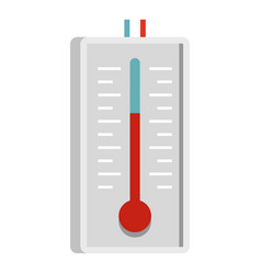 Thermometer icon isolated vector
