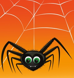 vampire spider vector image