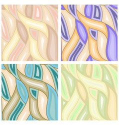 vector abstract seamless backgrounds vector image