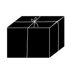 simple box icon image vector image vector image
