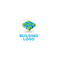 architect or building logo vector image
