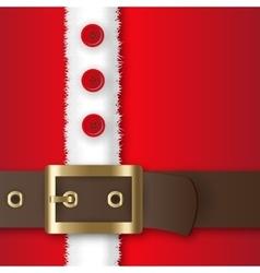 Santa Claus costume vector image vector image