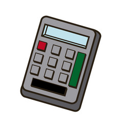 Calculator savings finances economy concept icon vector