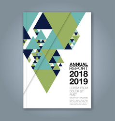 Cover annual report 1142 vector