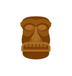 Hawaii idol icon flat style vector