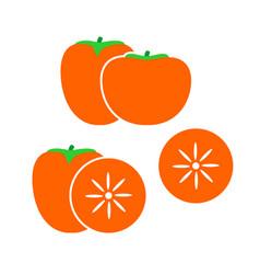 persimmon logo vector image
