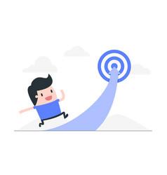 Reach target concept vector