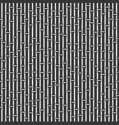 seamless bamboo background pattern on white back vector image