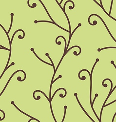 Tree branch pattern vector