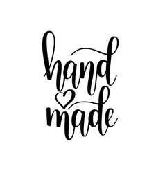 hand-made lettering vector image vector image