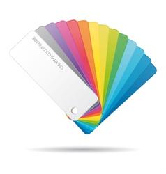 Color guide icon vector image