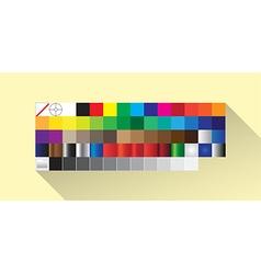 Palette Guide vector image