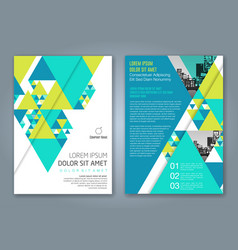 Cover annual report 1147 vector