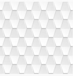 decorative white geometric texture - 3d vector image