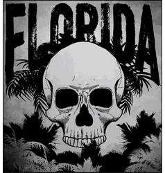 Florida beach surf club concept summer surfing vector