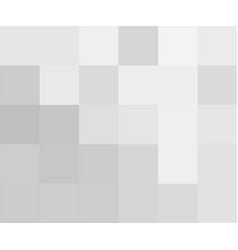 white and gray abstract squares background eps 10 vector image