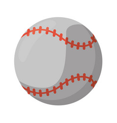baseball ball sport game vector image vector image