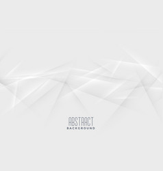 Abstract lines chaos white background vector