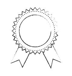 award ribbon banner vector image