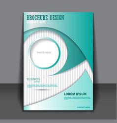 Background concept design for brochure vector image
