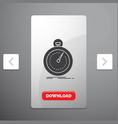 Done fast optimization speed sport glyph icon in vector