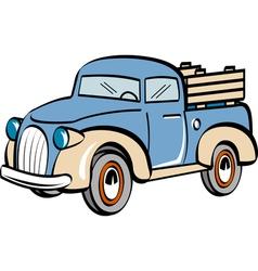 Farm truck vector