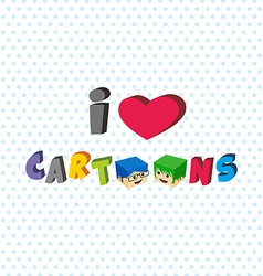 Love cartoon vector
