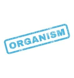 Organism Rubber Stamp vector