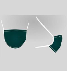 surgery mask vector image