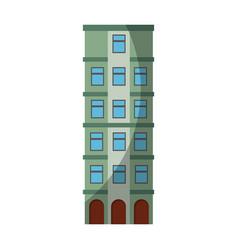 Urban building tower vector