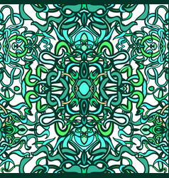 vecor colorful abstract seamless pattern vector image